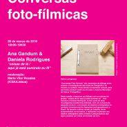 Conversas Foto-Fílmicas
