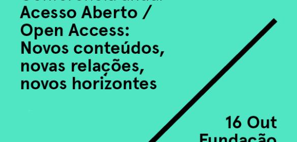 Conferência Anual Acesso Aberto / Open Access