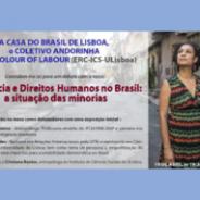 Debate Violência e Direitos Humanos no Brasil: a situação das minorias